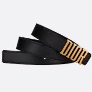[ ISO ] Dior D-fence belt in black or tan
